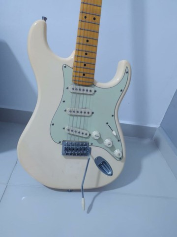 Guitarra Stratocaster Tagima Woodstock Olympic White  - Foto 5