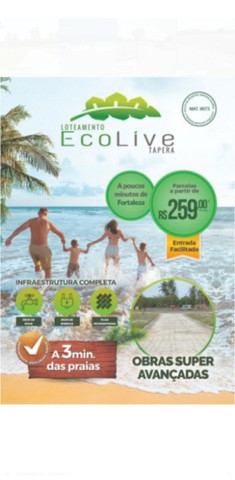 Loteamento Ecolive - tapera Aquiraz  - Foto 4