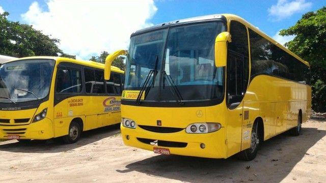 Excelente ônibus motor dianteiro - Foto 2