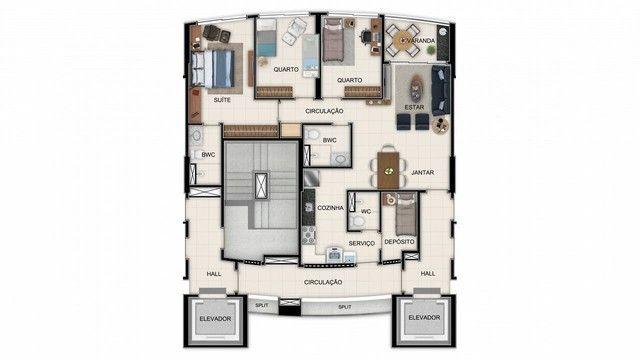 Apartamento para venda tem 84 metros quadrados com 3 quartos em Graças - Recife - PE - Foto 16
