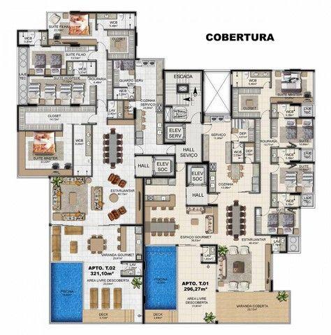 Apartamento para venda tem 200 metros quadrados com 4 quartos em Ponta Verde - Maceió - AL - Foto 9