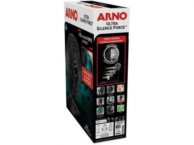 Ventilador De Mesa Arno Ultra Silence Force 50cm 6 Pás 220 V - Foto 3