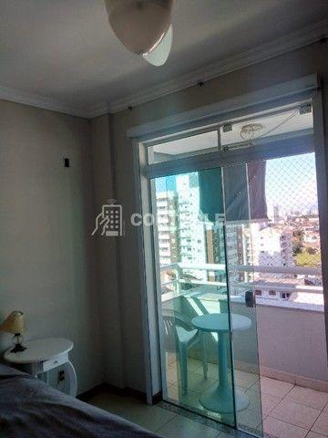(Ri)Ótimo apartamento vista mar, 101m2 com 3 dormitórios sendo 1 suíte em Barreiros - Foto 16
