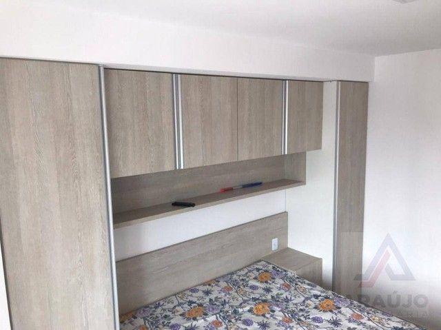 Apartamento com 2 dormitórios para alugar, 54 m² por R$ 1.570,00/mês - Bessa - João Pessoa - Foto 13