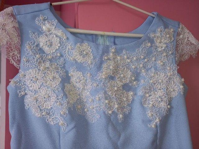 Vestido azul - Foto 5