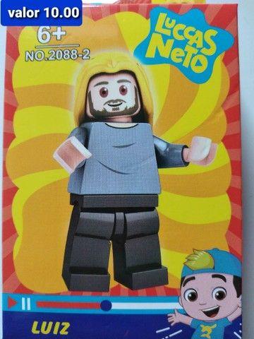 Lucas Neto blocos de montar Similar ao lego - Foto 6