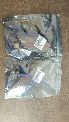 Riser (Versão 009s com 4 capacitores) cabo de 60 cm. - Foto 2
