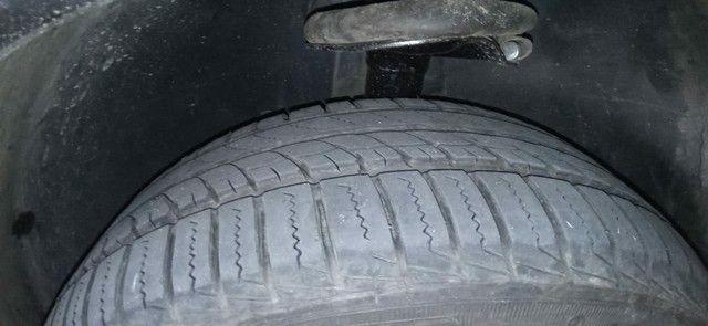 Rodas de liga Aro 15 com 2 pneus Remold NOVOS e dois meia boca - Foto 5