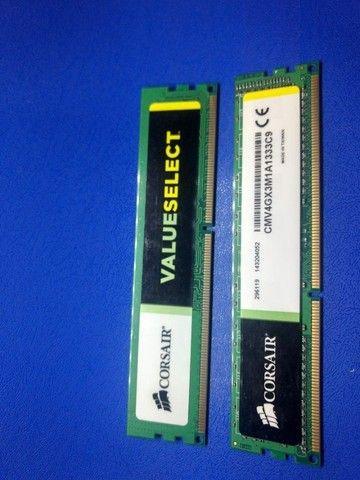 Kit 8GB Memória Corsair