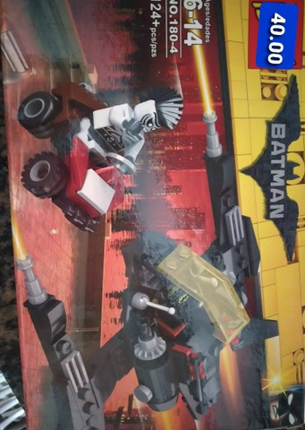 Batman bloco de montar similar ao lego  - Foto 2