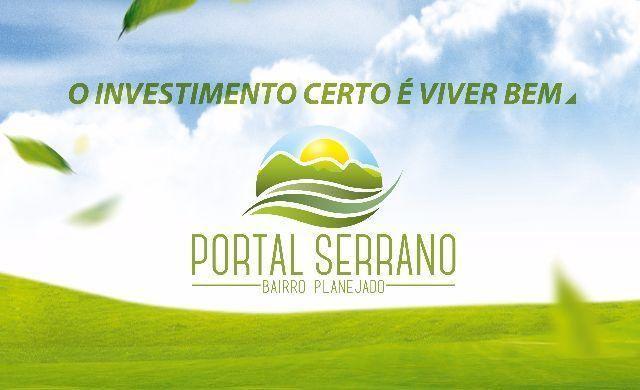 Lotes no Bairro Planejado Portal Serrano em Queimadas - PB