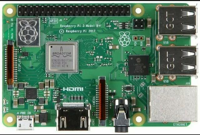 Raspberry Pi 3 Model B+ Plus Pi3 1 4ghz Lançamento 2018 Novo