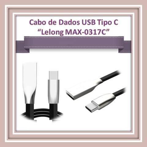 Cabo de Dados USB Tipo C ?Lelong MAX-0317C?