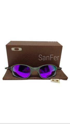 5553aa31c4b Óculos Oakley Juliet Doublex xmetal armação de metal lente polarizada