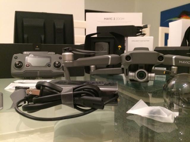 e42aed92b Drone MAVIC 2 ZOOM DJI ANATEL E NF BRASIL