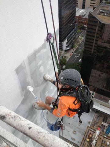 Pintores de fachada serviços em altura rj rio de janeiro - Foto 3