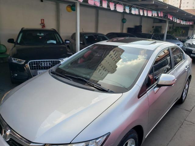 Honda Civic EXR 2.0 13/14 flex aut. prata - Foto 17