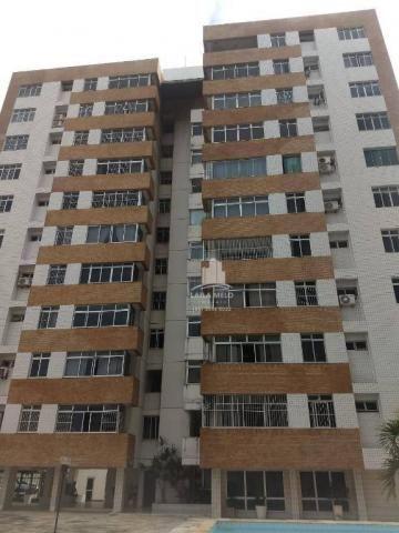 Apartamento com 3 dormitórios à venda, 120 m² por r$ 420.000 - meireles - fortaleza/ce