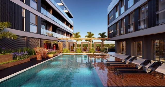 Cobertura elegante e exclusiva 2 suites Vista Praia Novo Campeche Florianopolis - Foto 6