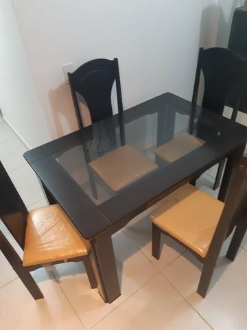 Mesa de Estar 4 cadeiras - Foto 2