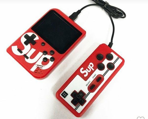 Mini game portátil retrô Nintendo 400 jogos incluso + controle player 2