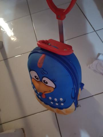 Mini mochila 3d da galinha pintadinha com lancheira - Foto 3