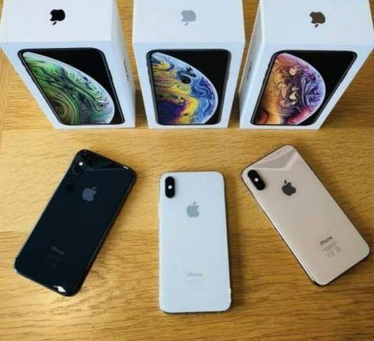 IPhone XS Max 256gb Dourado, Prata e Preto Aparelho de vitrine Black Friday
