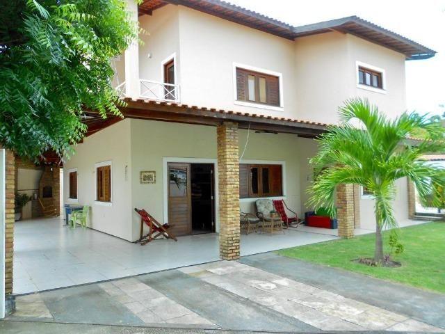 Casa em Cond no Eusébio - 313m² - 4 Suítes - 4 Vagas (CA0670)