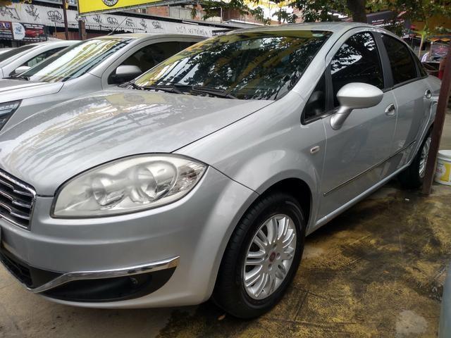 Fiat Linea 1.8 Essence completo - entr + 48x778.00 fixas c/GNV e IPVA 2020 grátis - Foto 4