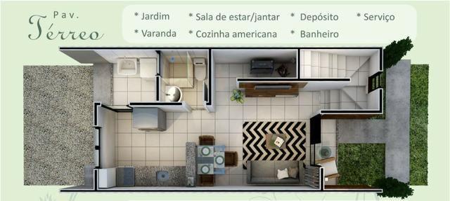 Dupléx Novo em Condomínio, Passaré, 70m2, 2 Suítes, Varanda, Quintal e 1 Vaga - Foto 17
