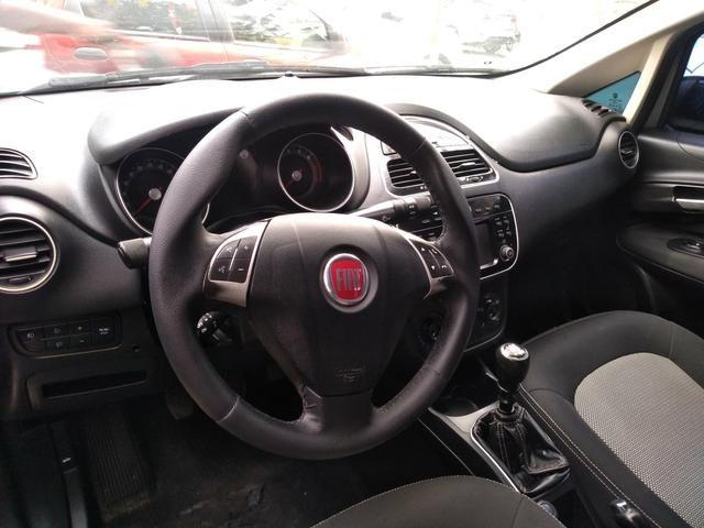 Fiat Linea 1.8 Essence completo - entr + 48x778.00 fixas c/GNV e IPVA 2020 grátis - Foto 6