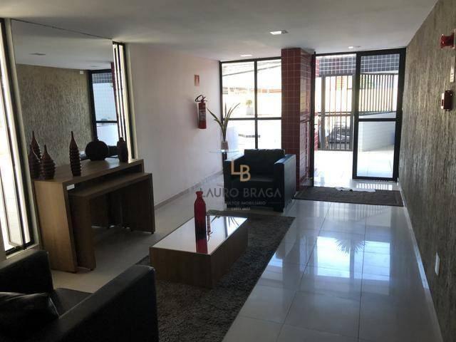 Edf. Vivart Apartamento com 3 dormitórios à venda, 83 m² por R$ 420.000 - Jatiúca - Maceió
