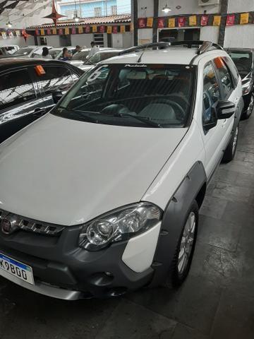 Fiat palio weekend 1.8 mpi adventure///pequena entrada + parcelas fixas 699.00 - Foto 2