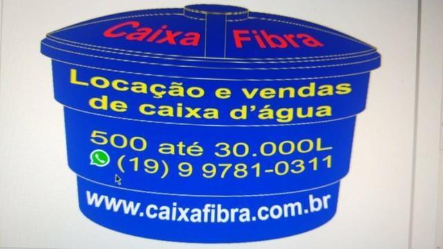 Aluguel de Caixa d agua 5000 L - 500,00 reais