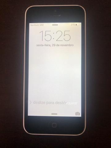 IPhone 5C branco 16GB - Foto 2