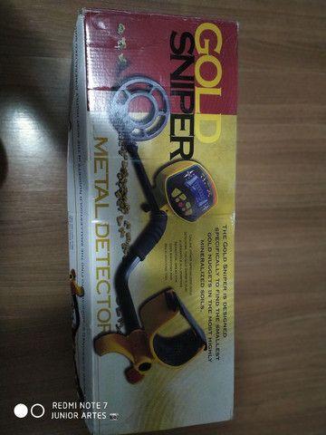 Gold sniper detector de metal md3010ii
