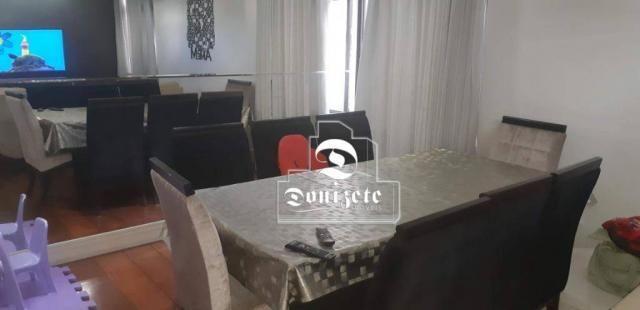 Apartamento com 4 dormitórios à venda, 118 m² por R$ 450.000,10 - Campestre - Santo André/ - Foto 2