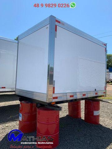 Bau frigorifico 2.80m kia bongo e hr novos instalado Mathias Implementos - Foto 4