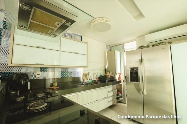 Vendo linda cobertura duplex no parque das ilhas(Porto das Dunas) 164m, toda projetada, po - Foto 2