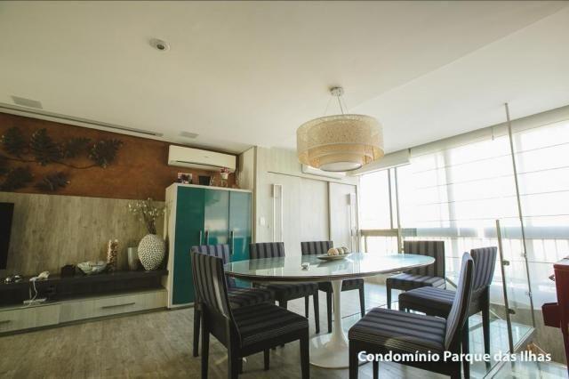 Vendo linda cobertura duplex no parque das ilhas(Porto das Dunas) 164m, toda projetada, po - Foto 5