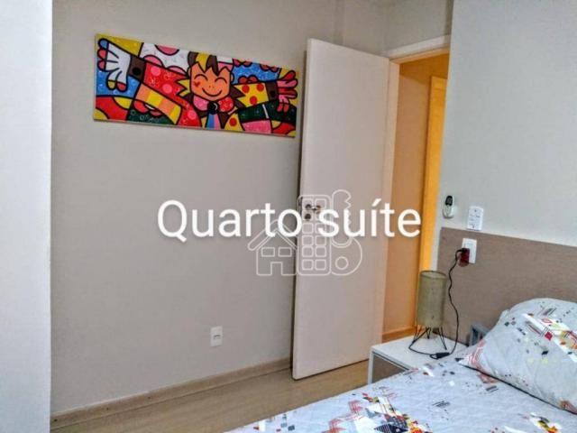 Apartamento com 3 dormitórios à venda, 100 m² por R$ 890.000,00 - Icaraí - Niterói/RJ - Foto 6