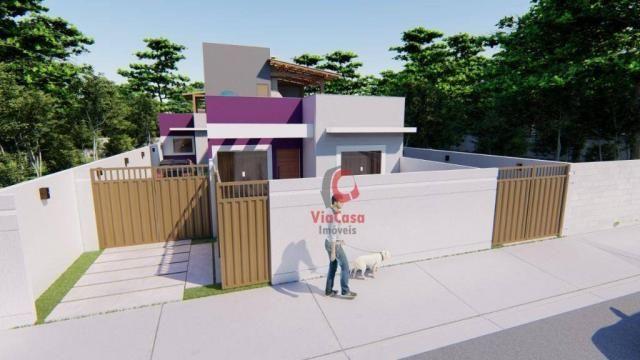 Lindas casas com 2 quartos sendo 1 auíte com terraço gourmet perto da pista !!! - Foto 4