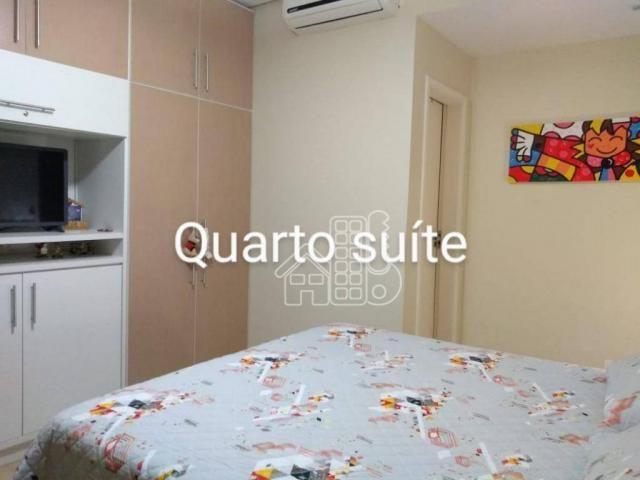 Apartamento com 3 dormitórios à venda, 100 m² por R$ 890.000,00 - Icaraí - Niterói/RJ - Foto 9