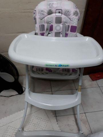 Cadeira infantil comprada e usada apenas 1 mês