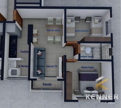 Apartamento à venda no bairro Laranjeiras - Patos de Minas/MG - Foto 10