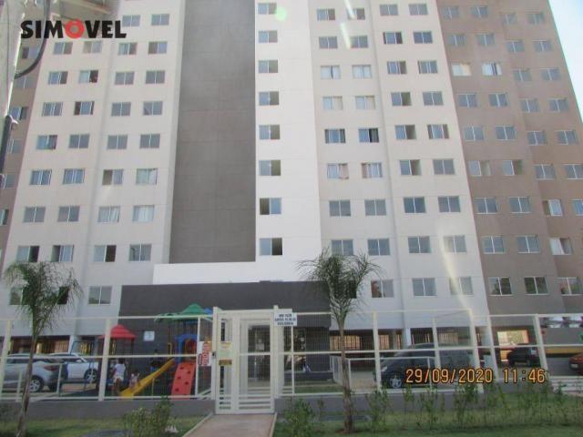 Apartamento com 1 dormitório para alugar, 32 m² por R$ 700/mês - Ceilândia Norte - Ceilând - Foto 2