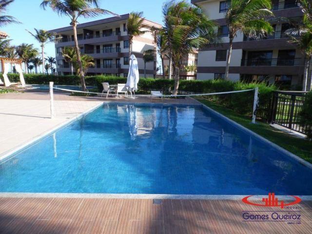 Apartamento com 3 dormitórios à venda, 118 m² - Porto das Dunas - Aquiraz/CE - Foto 20