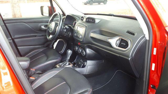 Jeep Renegade Longitude couro revisado impecável! - Foto 8