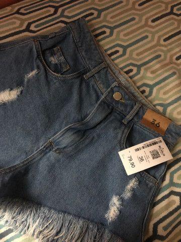 Short jeans cintura alta - Foto 3