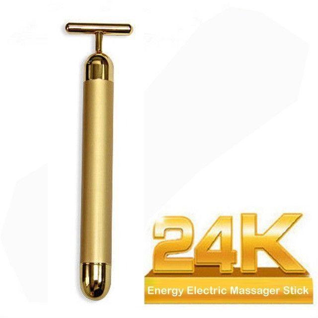 Massageador Facial Eletrico Antirugas Botox Lifting Vibração - Foto 4